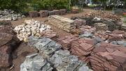 Природный камень (сланец,  песчанник,  мрамор,  гранит)
