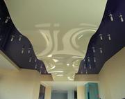 Натяжной потолок,  жалюзи