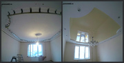 Двухуровневые натяжные потолки в Крыму